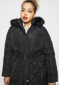 Dorothy Perkins Curve - DIAMOND LONG LUXE - Winter coat - black - 3