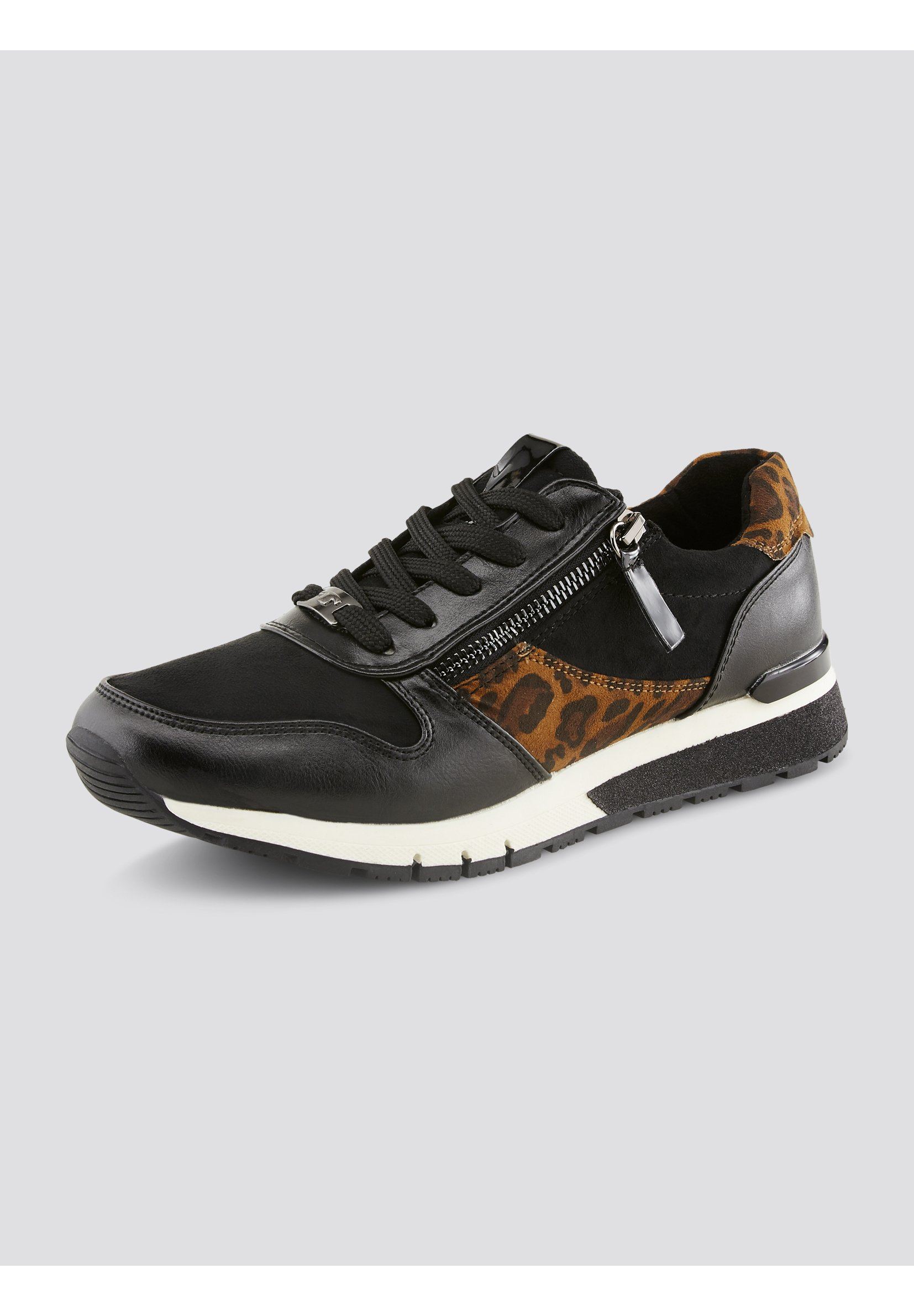 TOM TAILOR Sneaker low black/schwarz