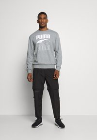 Puma - REBEL CREW  - Sweatshirt - medium gray heather - 1