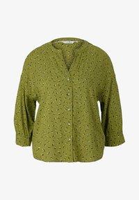 green geometrical design