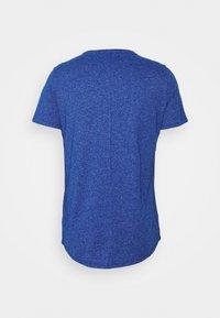 Tommy Jeans - SLIM JASPE C NECK - Jednoduché triko - blue - 4