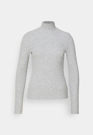 VMEFFIE HIGHNECK - Pullover - light grey melange