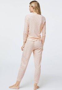 OYSHO - LONG-SLEEVE - Pyžamový top - rose - 2