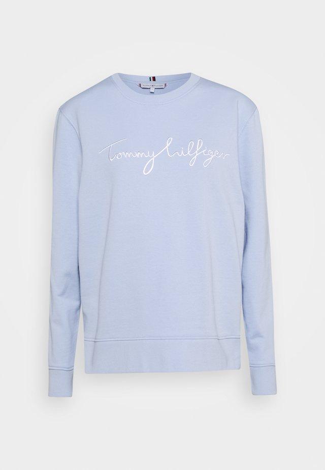 REGULAR GRAPHIC - Sweatshirt - breezy blue