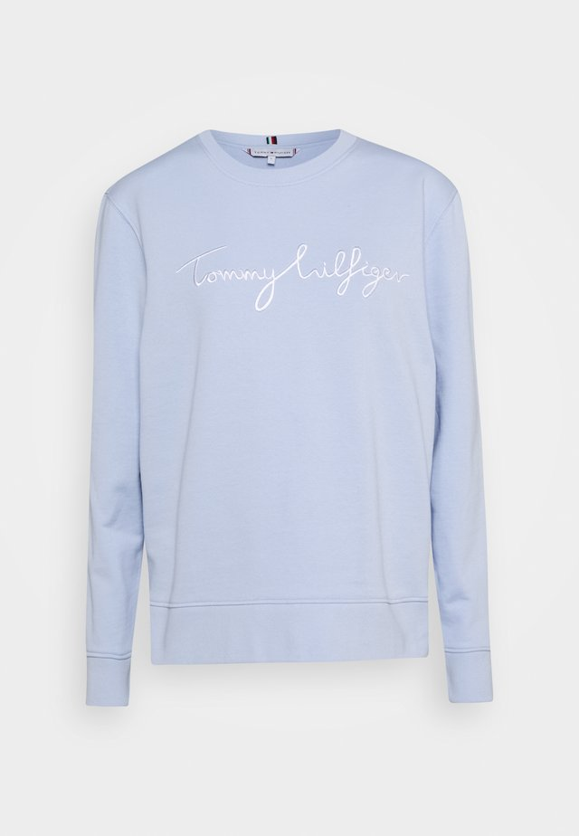 REGULAR GRAPHIC - Bluza - breezy blue