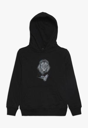 KIDS LION HOODY - Sweat à capuche - schwarz