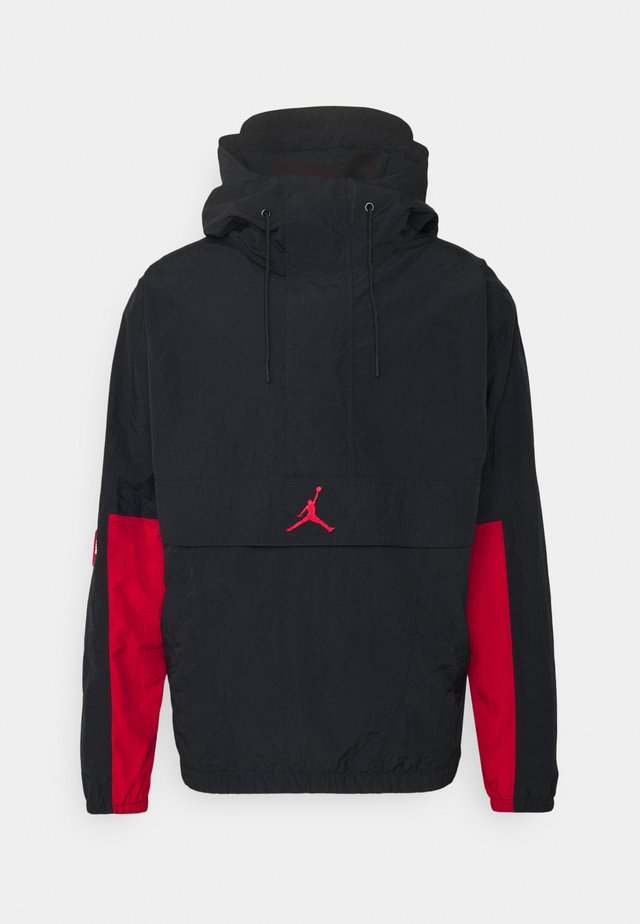 Windbreaker - black/gym red/white