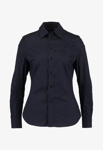 CORE SLIM - Button-down blouse - mazarine blue