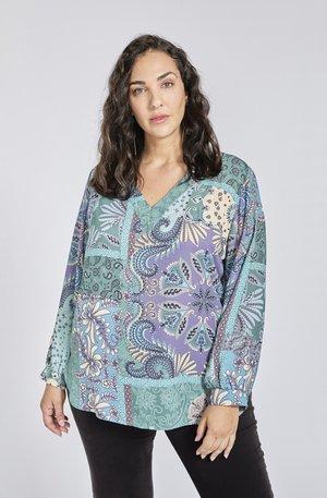 PATCHWORK - Poloshirt - multi-coloured