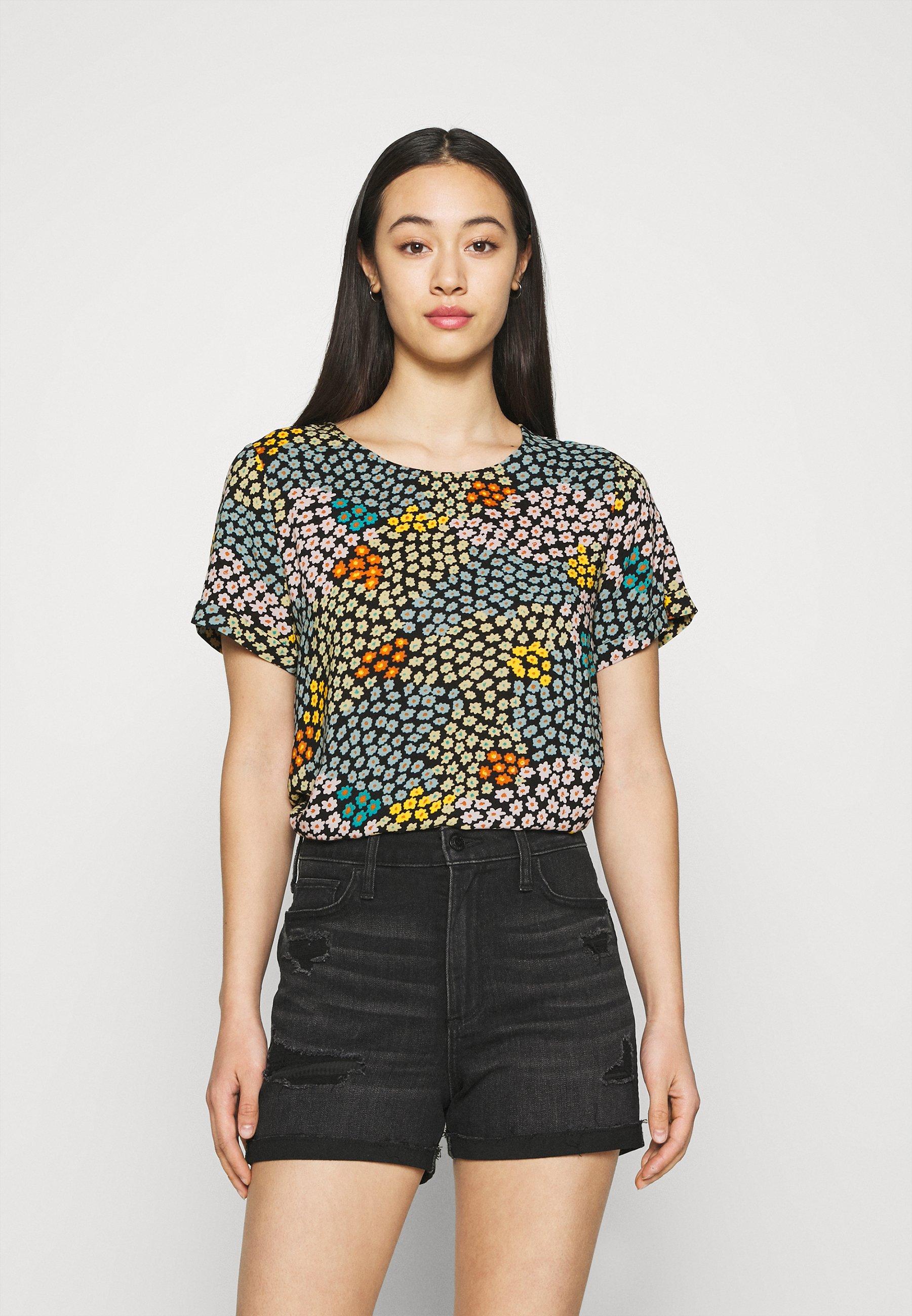 Women IHMELLOW - Print T-shirt