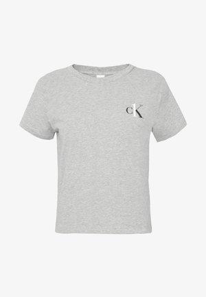 CK ONE LOUNGE CREW NECK - Pyjamapaita - grey heather