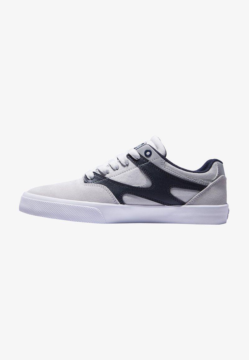 DC Shoes - KALIS VULC UNISEX - Trainers - grey/dark navy