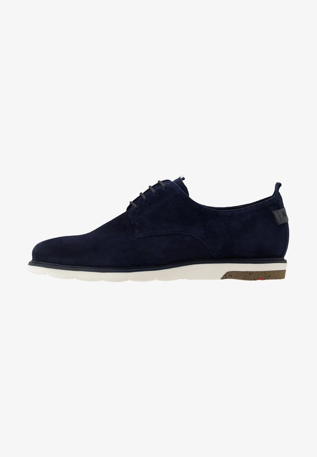 HAROLD - Zapatos con cordones - midnight/pacific
