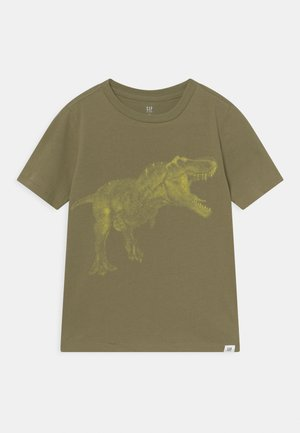 BOYS INTERACT - T-shirt print - olive moss