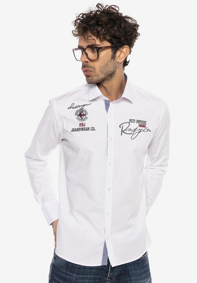 SOUTH BEND - Shirt - white