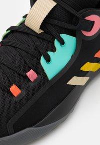 adidas Performance - HARDEN STEPBACK 2 - Scarpe da basket - core black/yellow/acid mint - 5