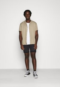 Only & Sons - ONSPLY  - Jeansshorts - black denim - 1