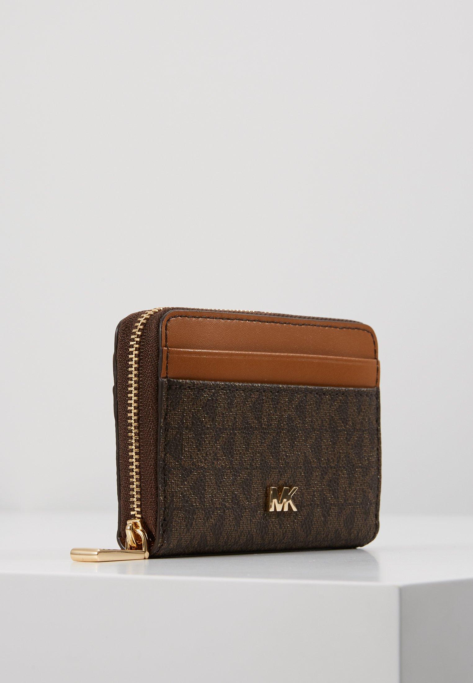 MICHAEL Michael Kors MOTT COIN CARD CASE COATED - Lommebok - brown/brun JgOtfLhSB1Y1i60
