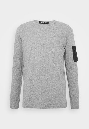 Topper langermet - medium grey