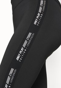 ONLY Play - ONPADREY TRAINING - Tights - black/white - 5