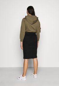 CAPSULE by Simply Be - NEW PULL ON SKIRT - Pencil skirt - black - 2