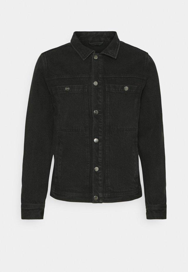 DETROITJACKET UNISEX  - Spijkerjas - washed black