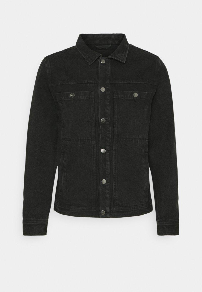 Afends - DETROITJACKET UNISEX  - Spijkerjas - washed black