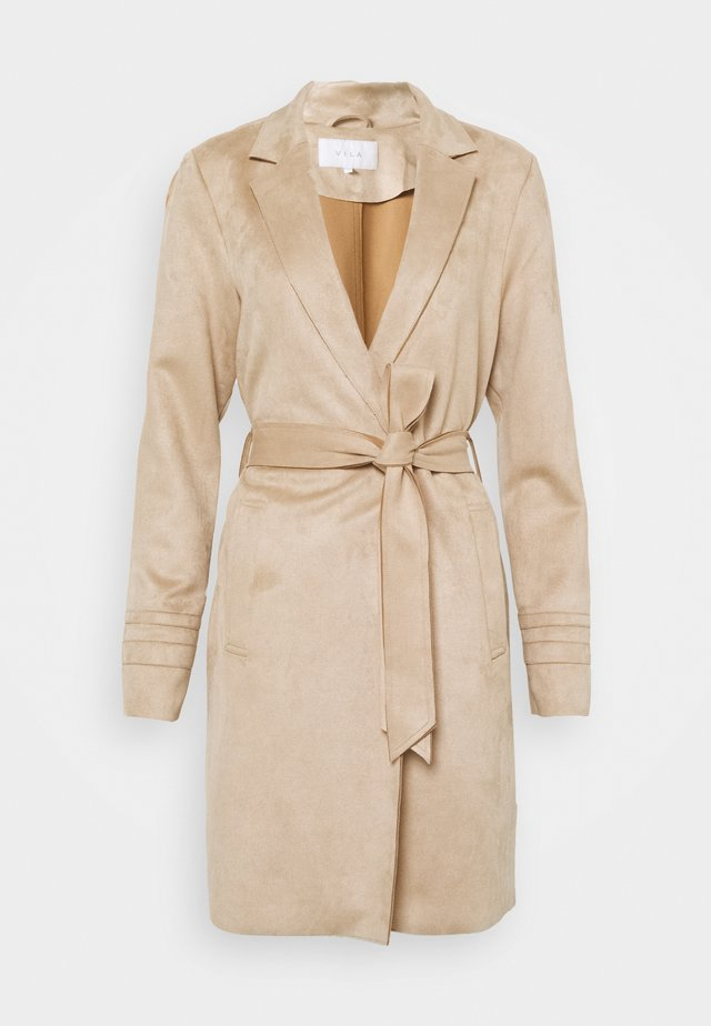 VIJAKY LONG COAT  - Trenchcoat - beige