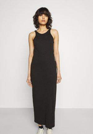 MAXI TANK TOP DRESS - Jerseyjurk - dark black