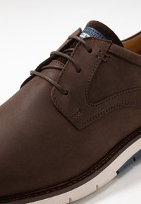 Salamander - MATHEUS - Casual lace-ups - dark brown - 5