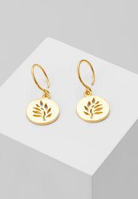Julie Sandlau - SIGNATURE EARRING - Örhänge - gold-coloured - 0