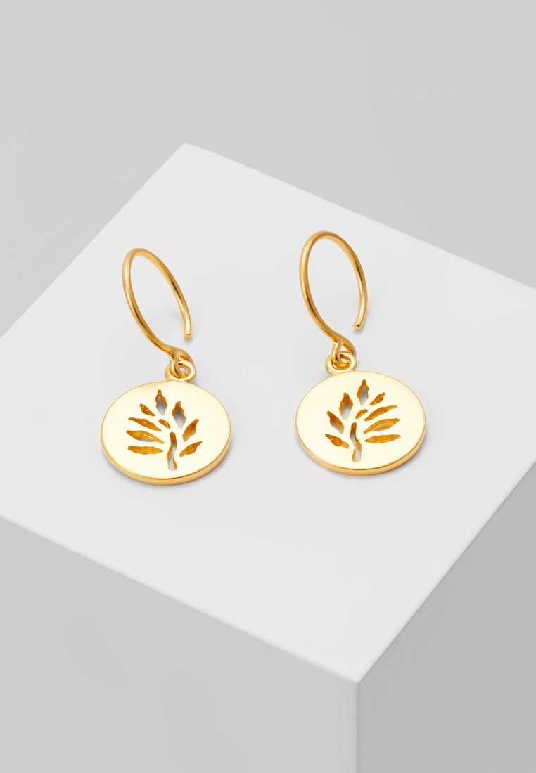 Julie Sandlau - SIGNATURE EARRING - Örhänge - gold-coloured