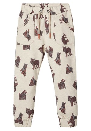 SWEATHOSE TIGERPRINT - Pantalon de survêtement - peyote