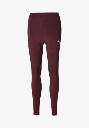 Leggings - Hosen - burgundy