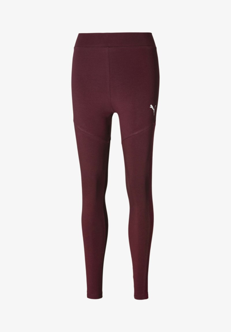 Puma - Leggings - Trousers - burgundy