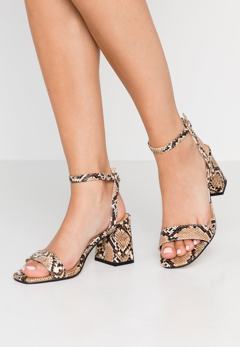 Office Wide Fit - MILLIONS WIDE FIT - Sandals - brown