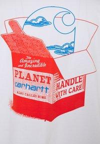 Carhartt WIP - LOVE PLANET - Print T-shirt - white - 7