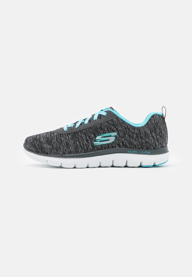 FLEX APPEAL 2.0 - Joggesko - black/charcoal/light blue