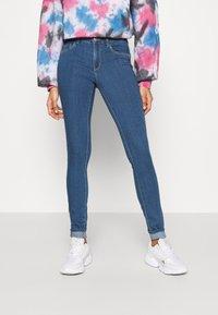 ONLY - ONLRAIN LIFE - Jeans Skinny Fit - light medium blue denim - 0