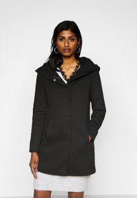 Vero Moda Petite - VMVERODONA JACKET - Classic coat - black - 0