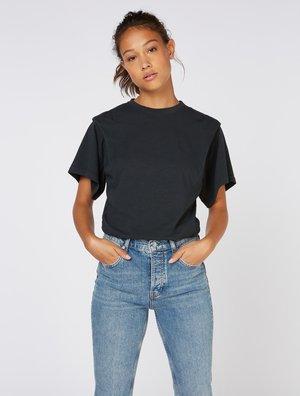 T-shirt basic - washed black