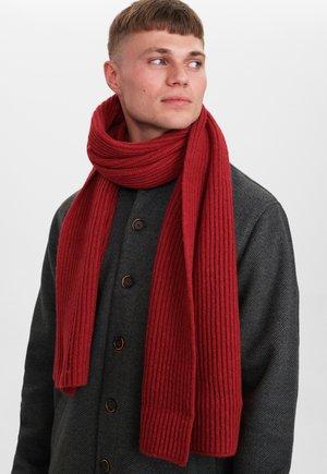 Sjaal - red dahlia