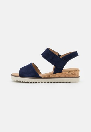 Wedge sandals - bluette