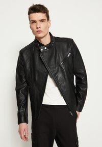 Be Edgy - KANNON - Leather jacket - black - 0