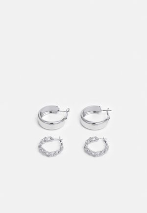 VMMAZIAH CREOLS 2 PACK - Oorbellen - silver-coloured