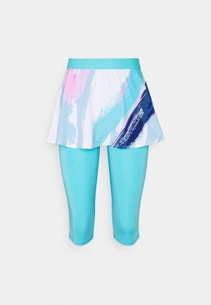 FAIDA TECH SCAPRI - Sportovní sukně - white/aqua