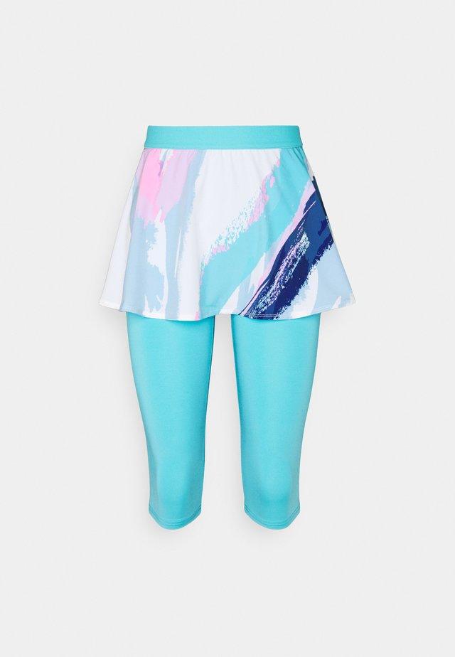 FAIDA TECH SCAPRI - Sports skirt - white/aqua