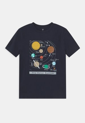 VALUE GRAPHICS - T-shirt con stampa - true indigo