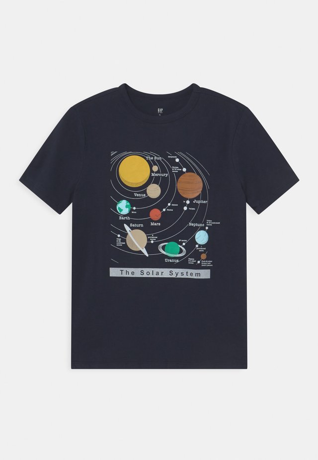 VALUE GRAPHICS - T-shirt print - true indigo