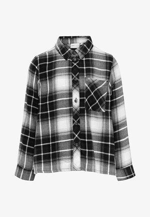 KAROMUSTER - Button-down blouse - black